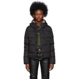 Moncler Black Down Lana Hooded Jacket E20934684405C0059