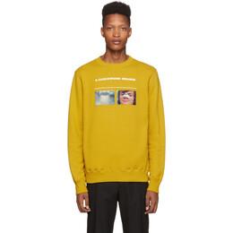 Undercover Yellow A Clockwork Orange Broken Nose Sweatshirt 192414M20400301GB