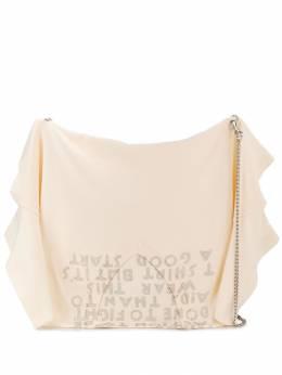 Mm6 Maison Margiela сумка-сэтчел в виде футболки S63WG0003PR526