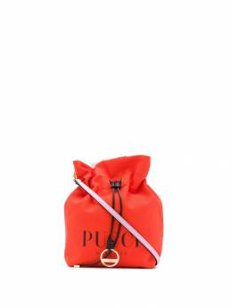 Emilio Pucci парусиновая мини-сумка с логотипом 9HSD379H030