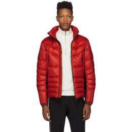 Moncler Grenoble Red Canmore Puffer Jacket 41927 - 85 - 53071