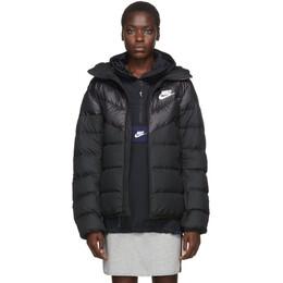 Nike Black Down Windrunner Jacket 928833-010