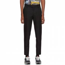 Undercover Black Wool Trousers 192414M19100105GB