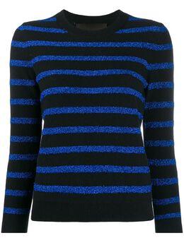 Marc Jacobs джемпер в полоску с блестками M4008440400