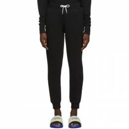 Maison Kitsune Black Tricolor Fox Lounge Pants 192389F08600202GB