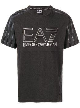 Ea7 Emporio Armani футболка с принтом 6ZPT18PJ04Z