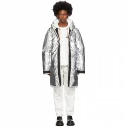 Ambush Silver Down Liner Coat 192820F06100203GB