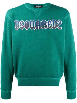Dsquared2 свитер с круглым вырезом и логотипом S71GU0315S25030