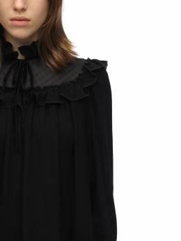 Короткое Платье Из Вискозного Крепа Marc Jacobs 70IG3F020-MDAx0