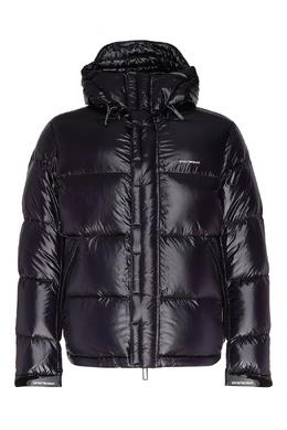 Стеганая темно-синяя куртка Emporio Armani 2706154030