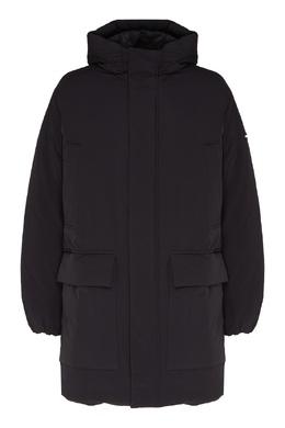 Черная куртка с карманами Emporio Armani 2706154027