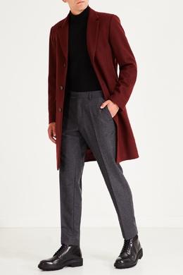 Серые брюки из шерсти Sandro 914153172
