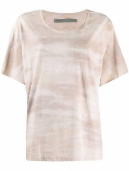 Raquel Allegra футболка с принтом тай-дай Y933992TD