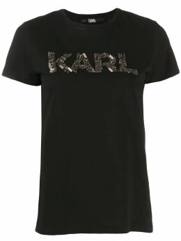Karl Lagerfeld футболка Karl Oui 96KW1710999