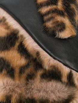 Bellerose варежки с леопардовым принтом MADINA92F1767