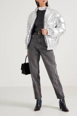 Куртка-пуховик цвета металлик Isabel Marant Etoile 958154849