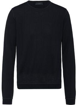 Prada свитер с круглым вырезом в рубчик UMA972S1921S2P