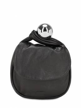 Sphere Smooth Leather Pouch Jil Sander 70IWLC012-MDAx0
