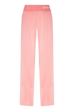 Розовые брюки с лампасами Moncler 34147944