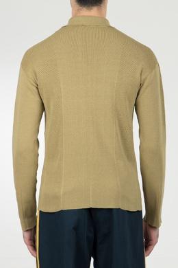 Поло с длинными рукавами и логотипом Roberto Cavalli 314155153