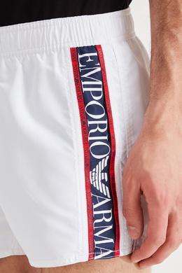 Белые плавки Emporio Armani 2706126808