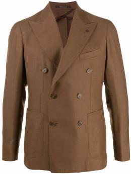 Tagliatore двубортный пиджак узкого кроя 1SMC20K08UIZ066