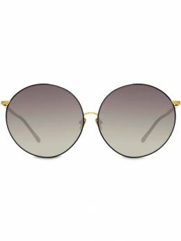 Linda Farrow солнцезащитные очки в круглой оправе LFL891C1SUN