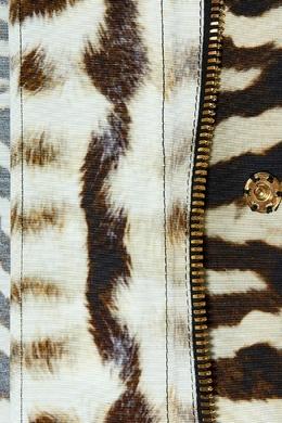 Куртка с животным принтом Moncler 34150115