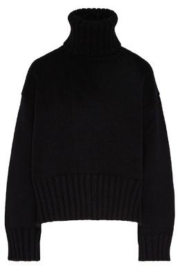 Черный кашемировый свитер Prada 40154562