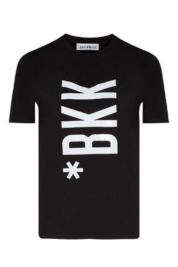 Футболка черного цвета с логотипом Bikkembergs 1487154878