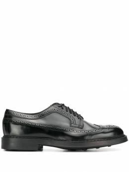 Doucal's туфли на шнуровке с брогированием DU2523BRUGUF119