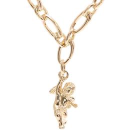 Tiffany & Co. 18K Yellow Gold Kelpim Charm Figaro Necklace 228278