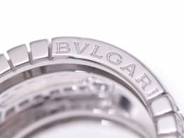 Bvlgari Parenting Diamond 18K White Gold Ring Size 48 227712