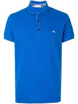 Etro рубашка-поло с логотипом 1Y8009154