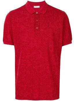 Etro рубашка-поло с принтом пейсли 1Y8059172