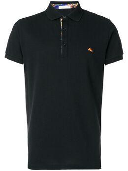 Etro футболка-поло с короткими рукавами 1Y8009154