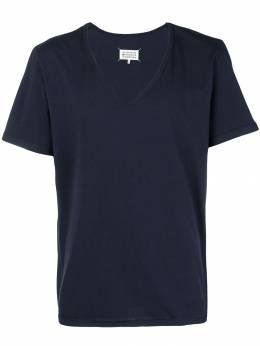 Maison Margiela футболка с V-образным вырезом S50GC0517S22533