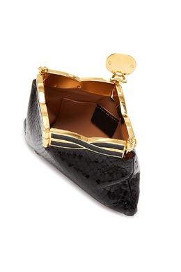 Черный клатч Broadway Gucci 470155083
