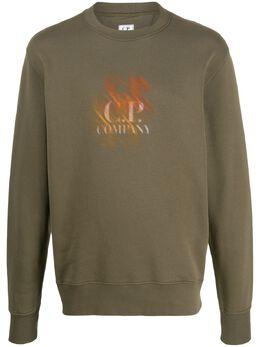 C.P. Company свитер с логотипом 07CMSS294A005622W670