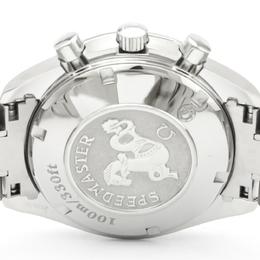 Omega Black/White Stainless Steel Speedmaster Date Steel Automatic 3211.31 Men's Wriswatch 40 MM 229648