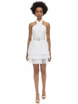 Короткое Платье Из Тюля Alberta Ferretti 70I51M062-MDAwMg2