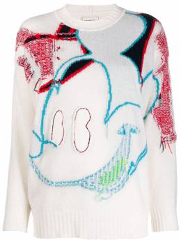 Iceberg graphic knit jumper A0077081