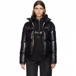Moncler Black Down Shiny Rimac Jacket E20934591500C0067