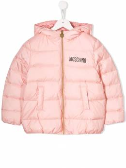 Moschino Kids padded hooded coat HDS02QL3A22