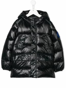 Save The Duck Kids hooded padded coat J45718LUCK9