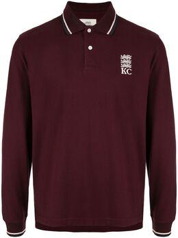 Kent & Curwen рубашка-поло с длинными рукавами K40H8A124079