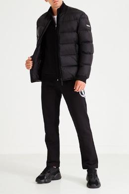 Спортивные брюки с контрастной эмблемой Bikkembergs 1487156422