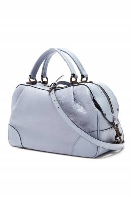 Дымчато-серая кожаная сумка The Lane Coach 2219156041