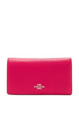 Розовый клатч-кроссбоди Hayden Foldover Coach 2219156050