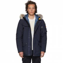 Parajumpers Navy Down Masterpiece Masterlight Right Hand Jacket PM JCK MG06
